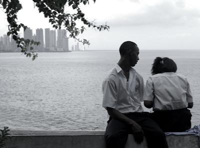 Local Panamanian couple