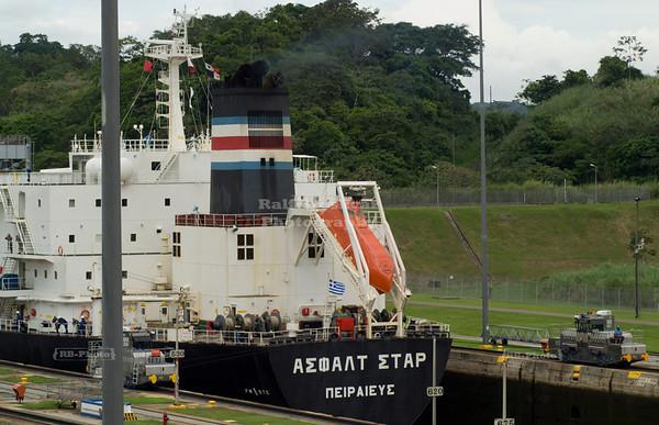 Panama Canal - Miraflores Locks, Panama City, Panama