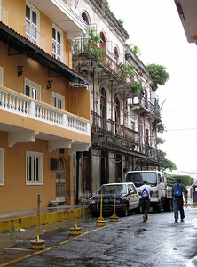 Walking through Panama's old city Casco Viejo