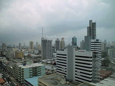 View over Panama City