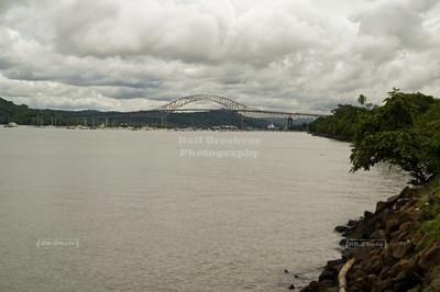 Bridge of the Americas (Puente de las Américas) over the Pacific entrance to the Panama Canal, Balboa, near Panama City, Panama