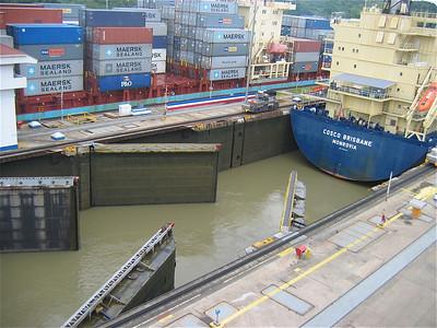 MIraflores Locks, Panama Canal. Panama.