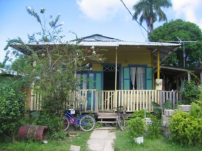 Villa Kakelbont. Bocas del Toro, Panama.