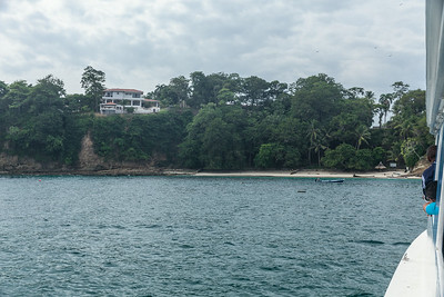 Arriving Contadora, Pearl Islands