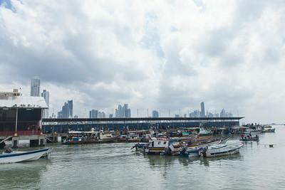 Panama City, Panama Fish market- Mercado De Mariscos