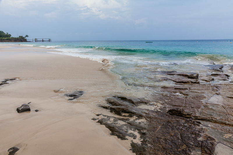 Contadora Island beach Contadora