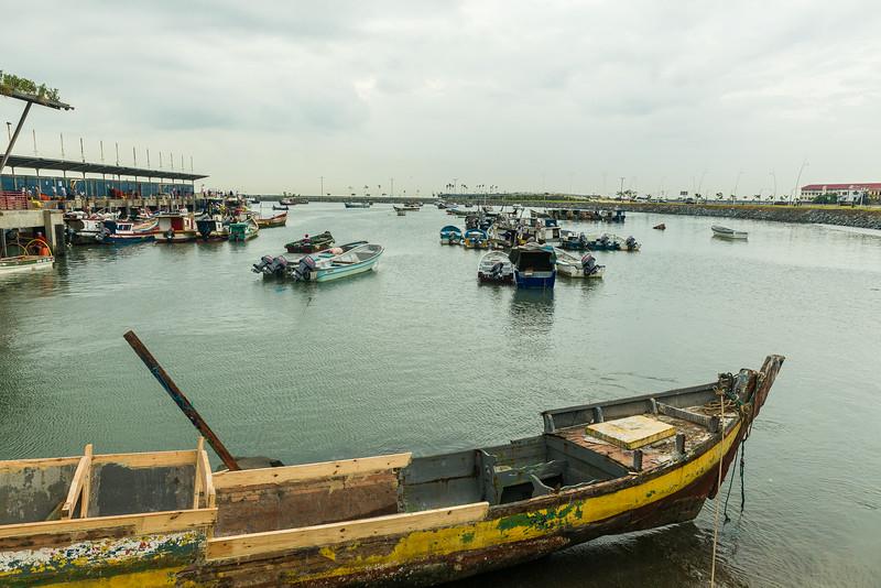 Muelle de Panamá; Panama City, Panamá