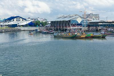 Fish market, Panama City, Panama;Mercado de Mariscos