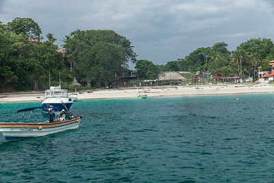 One of many Beaches on Contadora Contadora