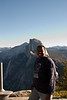 Melvin with Half Dome in the background