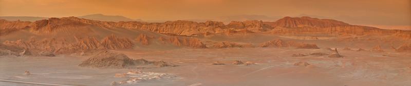 Valle de la Luna, Atacama desert, Chile