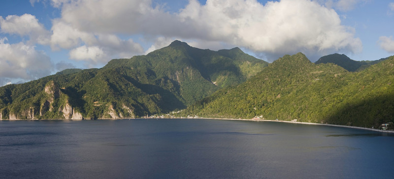Soufriere Bay, south Dominica