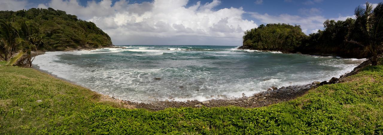 Bay in north Dominica