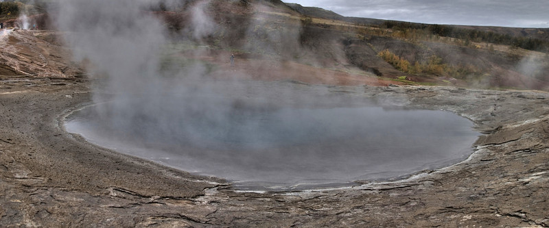 The Great Geysir, inactive at the time (2007)