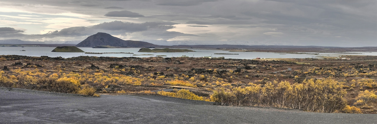Lake Myvatn, north Iceland