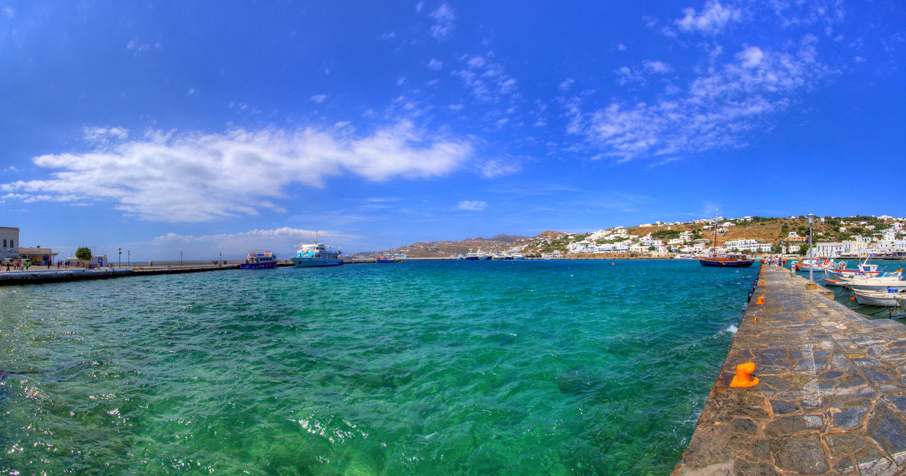 The Old Harbor, Mykonos, Greece