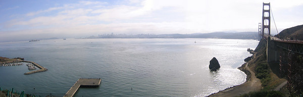 Golden Gate Bridge - San Francisco (Nov 2004)