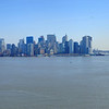 New York, NY as seen from Liberty Island.