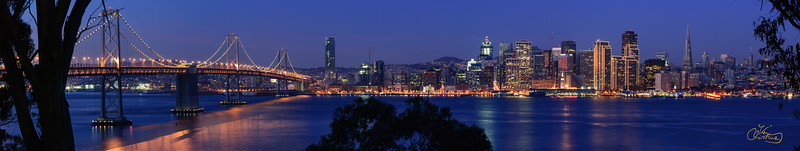 San Francisco skyline, 2007