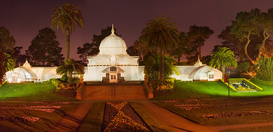 Conservatory of Flowers - Golden Gate Park, San Francisco