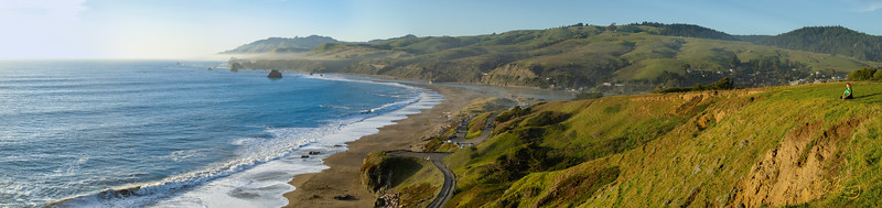 Enjoying the View - Sonoma Coast, California