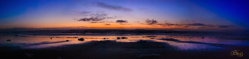 Low tide at Ocean Beach, San Francisco
