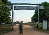 "Entrance to Transpantaneira ""highway"" as we begin our wildlife photoshoot in Brazil's Pantanal."