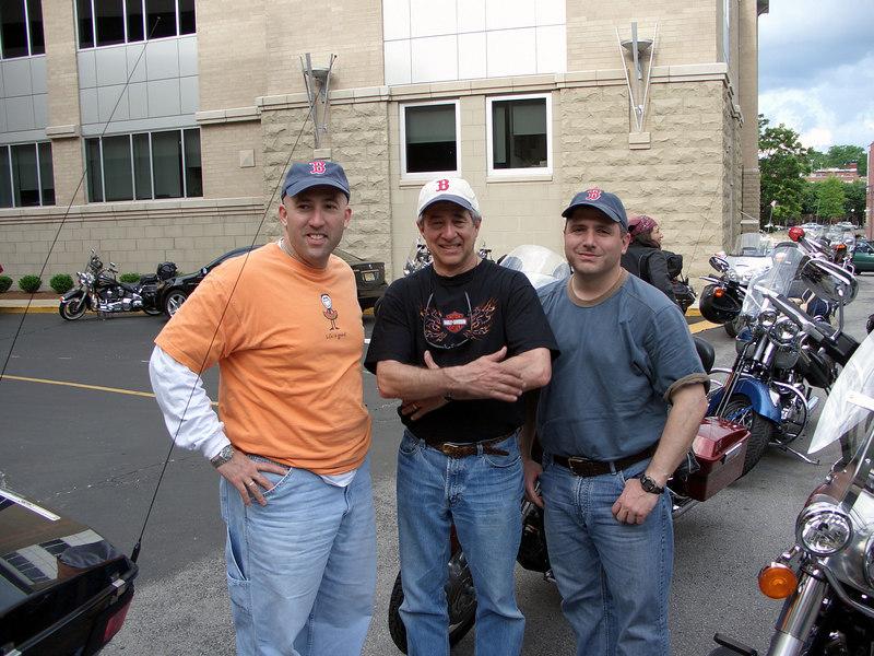 Barnet, Victor, and me.