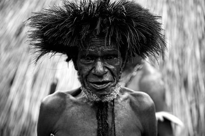 _MG_4680  Dani Tribesman from the Baliem Valley in Papua Indonesia