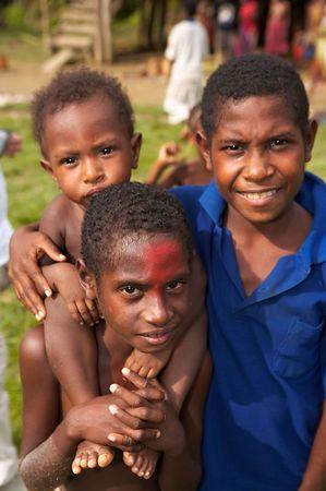 Kids from Yimas #2 Village