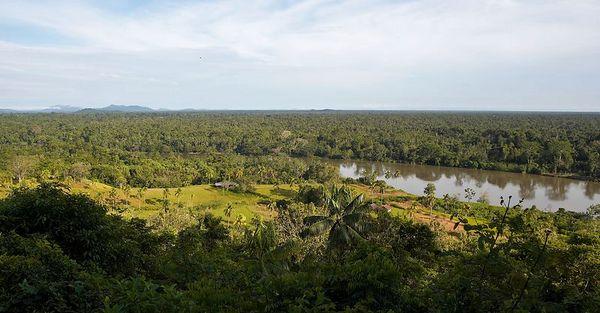 View from the Karawari Lodge