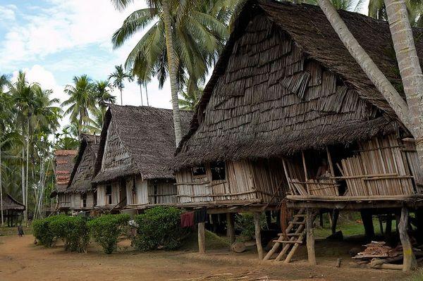 A row of houses