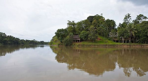 On the Karawari River