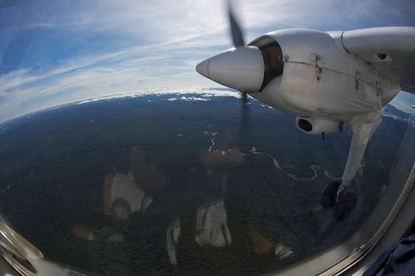 Charter flight to Karawari