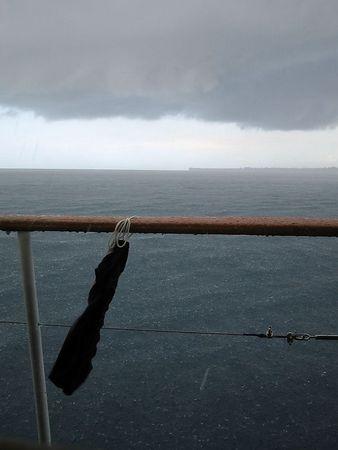 Rain storm in PNG