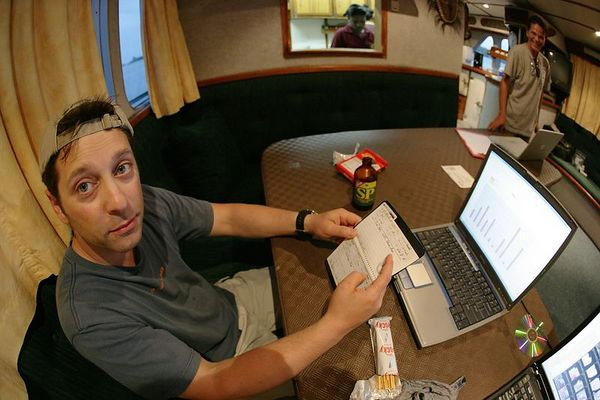 Dave Patchen makes a spreadsheet and chart of his dives