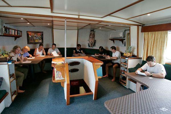Paperwork aboard the Febrina