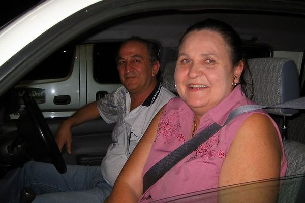 Leigh and Steve - our 1-day Port Moresby hosts