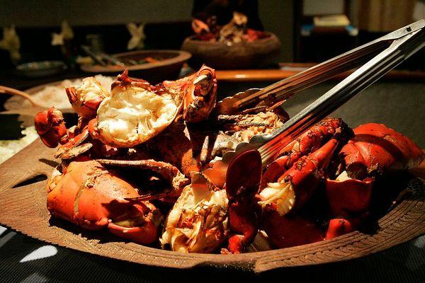 Mud crab dinner!