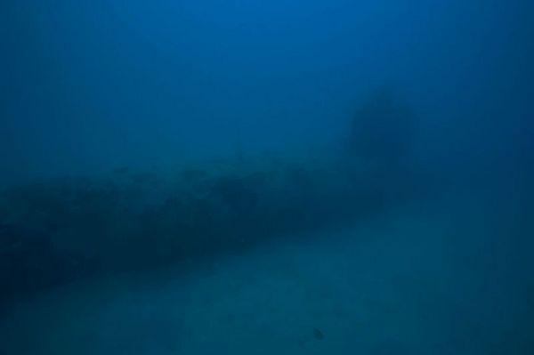 An old Japanese submarine