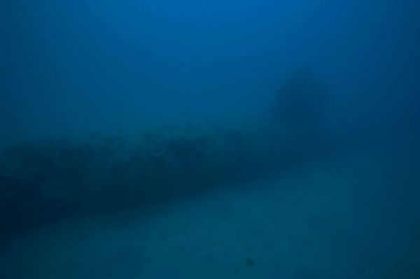 An old Japanese submarine