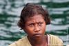 Papua New Guinea. Milne Bay: Village girl