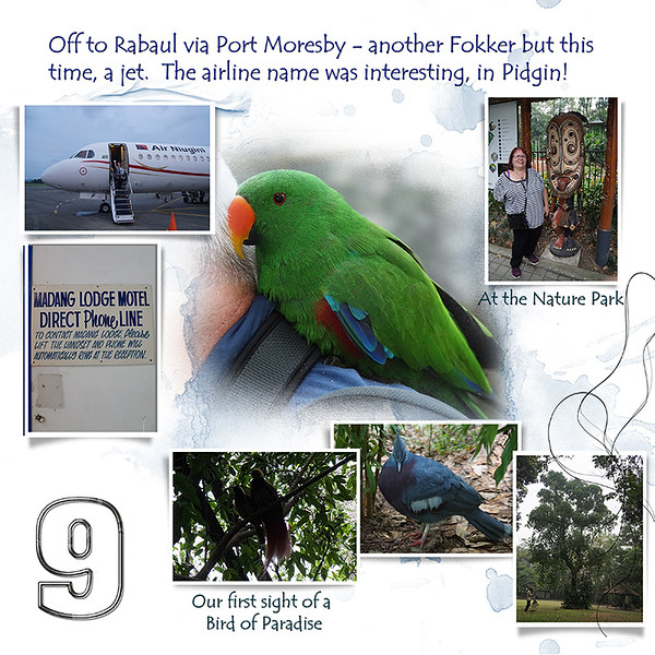 Day 09 A Madang to Rabaul