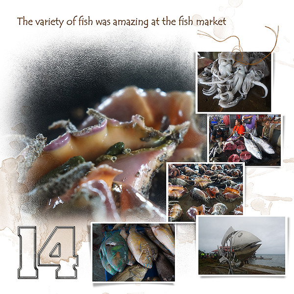 Day 14 A Fish Market