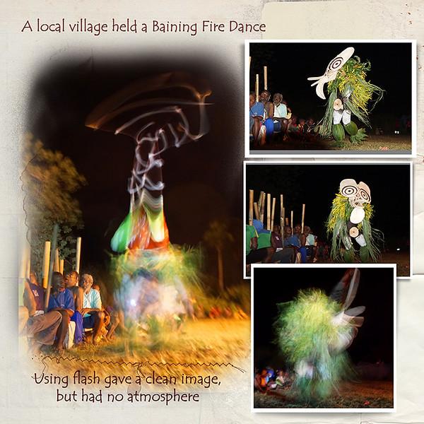 Day 12X A Baining fire dance