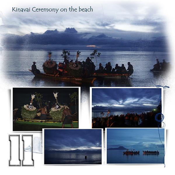 Day 11 A Kinavai Ceremony