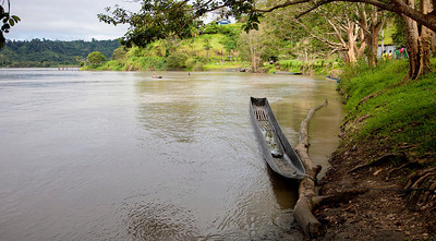Along the banks of the Sepik River, Ambunti