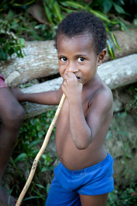 Sepik village boy