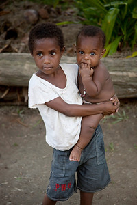 Sepik village kids