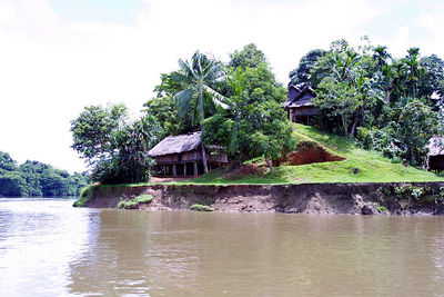 village along the sepik river